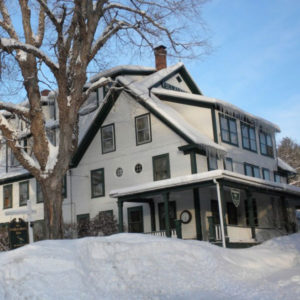 The Follansbee Inn in Winter