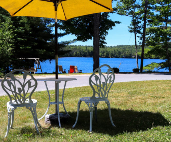 Lakeside Chairs | Follansbee Inn, Kazer Lake, NH