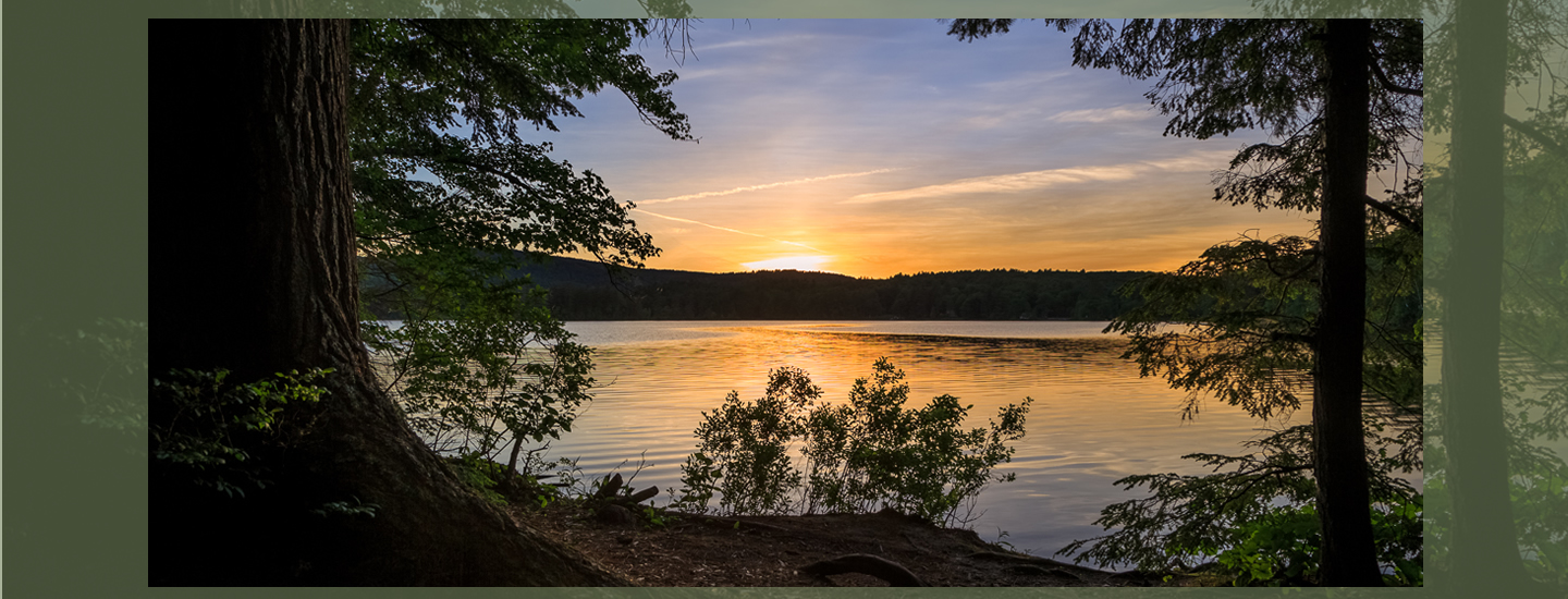 Sunset View | Follansbee Inn, Kazer Lake, NH