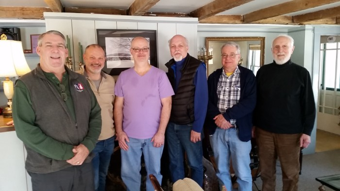 Concord Men's Retreat 2019, group of men standing | Follansbee Inn, Kazer Lake, NH