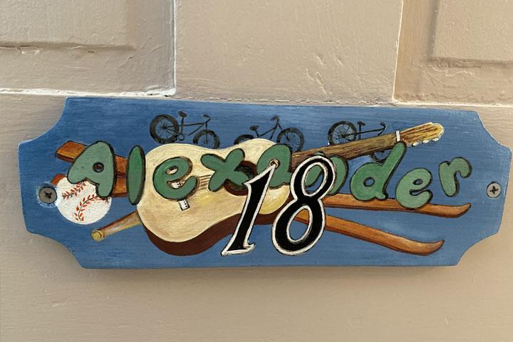 Alexander Wooden Description | Follansbee Inn, Lake Sunapee, NH