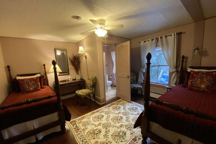 Deborah Ann Bed 1 | Follansbee Inn, Lake Sunapee, NH