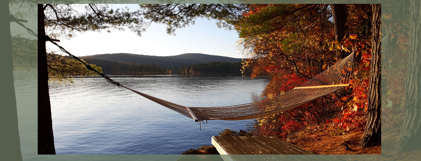 Hammock Fall | Follansbee Inn, Kazer Lake, NH