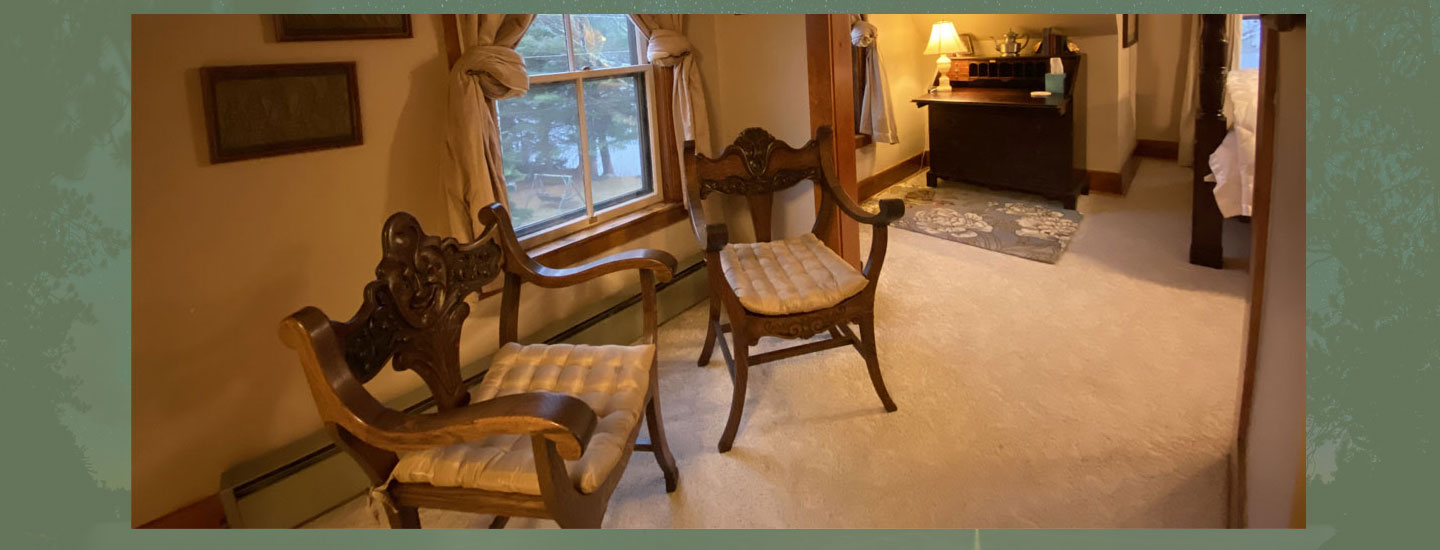 Rylee Antique Chairs | Follansbee Inn, Kazer Lake, NH