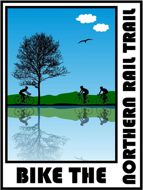 Rail trail logo | Follansbee Inn, Kazer Lake, NH