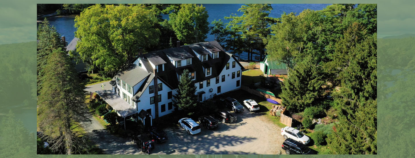 Inn and lake | Follansbee Inn, Kazer Lake, NH