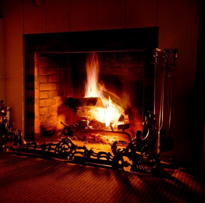 Fireplace | Follansbee Inn, Lake Sunapee, NH