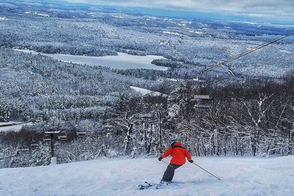 New Hampshire Active Vacations: Follansbee Inn, Kezar Lake, Mount Sunapee, NH B&B