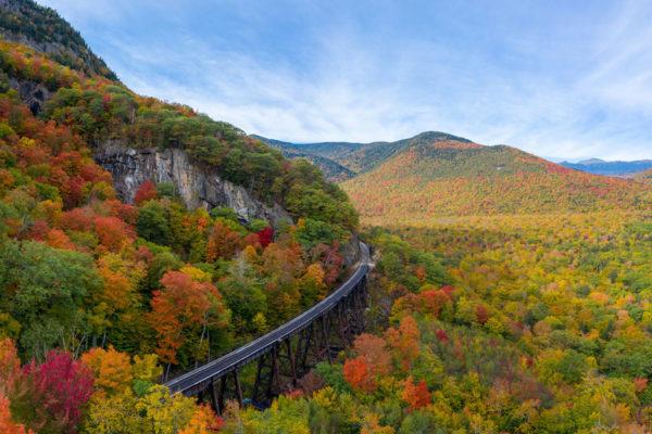 Fall Foliage in New Hampshire: Follansbee Inn, North Sutton, NH B&B